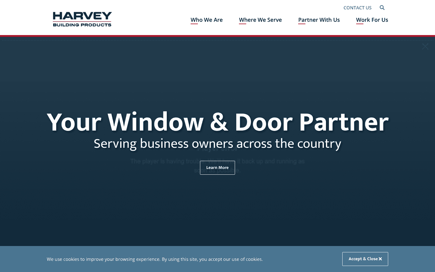 Harvey Building Products reviews and complaints