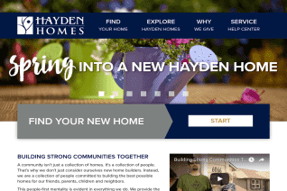 Hayden Homes reviews and complaints