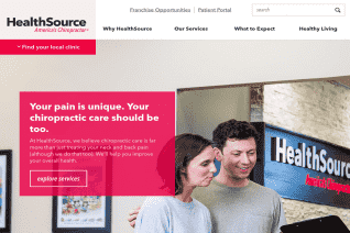 HealthSource Chiropractic reviews and complaints