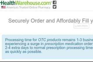 Healthwarehouse reviews and complaints