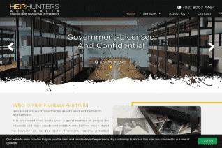 Heir Hunters Australia reviews and complaints