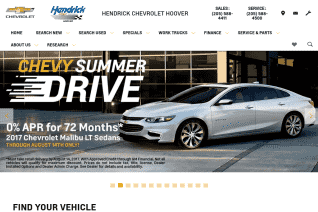 Hendrick Chevrolet Hoover reviews and complaints