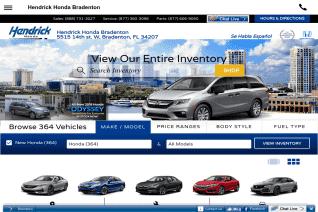 Hendrick Honda Bradenton reviews and complaints