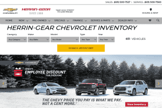 Herrin Gear Chevrolet reviews and complaints