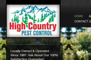 High Country Pest Control reviews and complaints