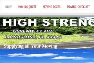 High Strength Movers reviews and complaints