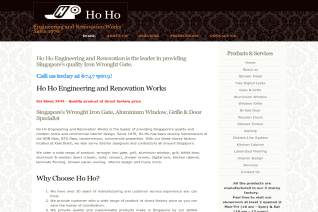 HO HO Engineering and Renovation Works reviews and complaints