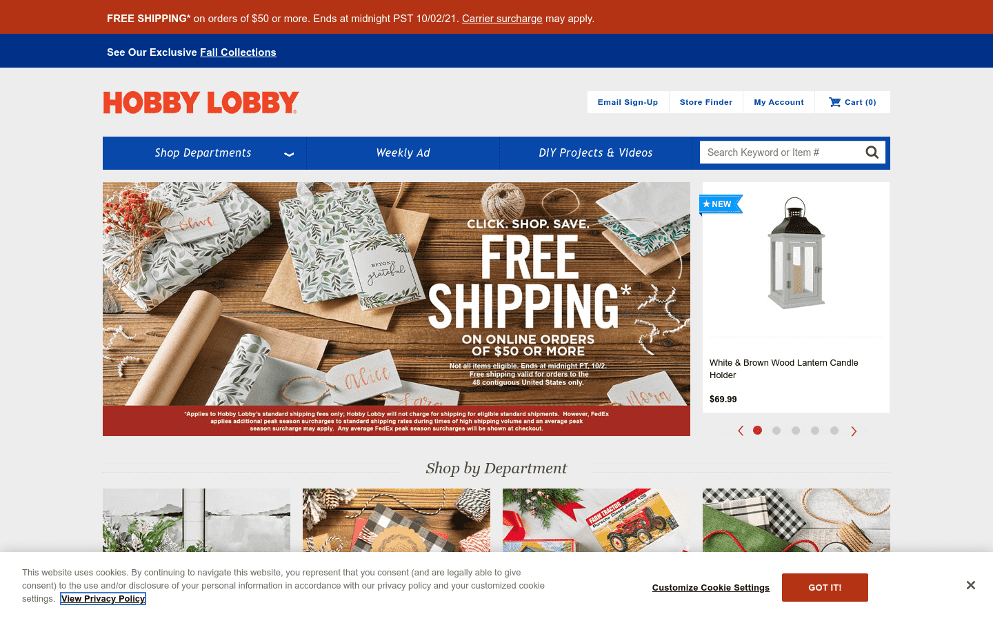 Hobby Lobby reviews and complaints