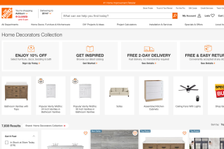 Home Decorators Collection reviews and complaints