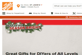 Home Depot Canada reviews and complaints