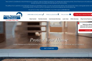 Home Paramount Pest Control reviews and complaints