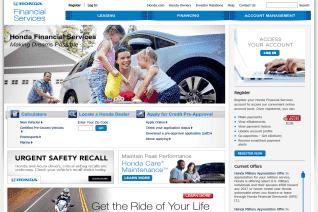 Honda Financial Services reviews and complaints