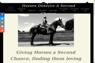 Horses Deserve A Second Chance reviews and complaints