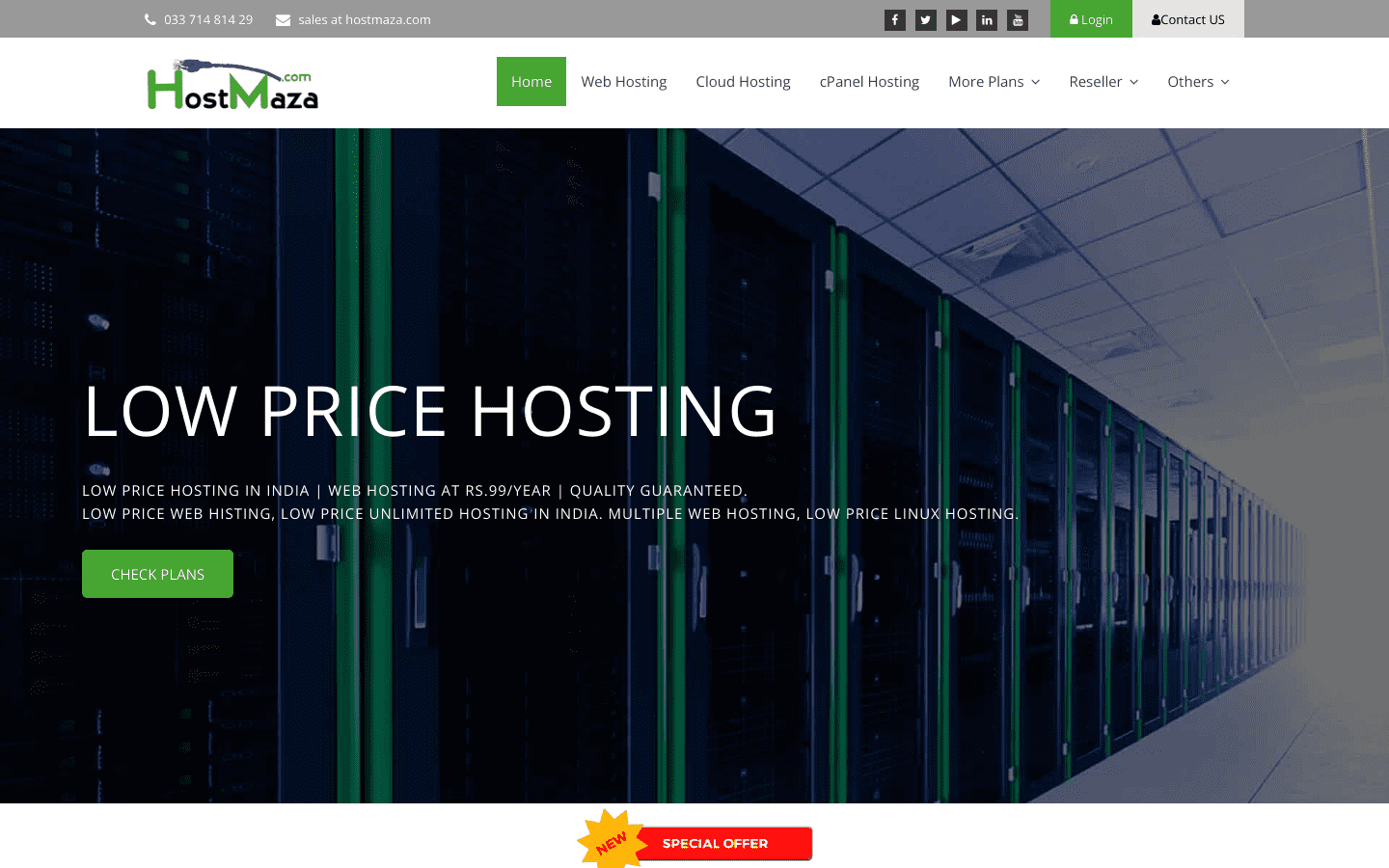 Hostmaza reviews and complaints