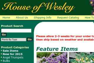 House of Wesley reviews and complaints