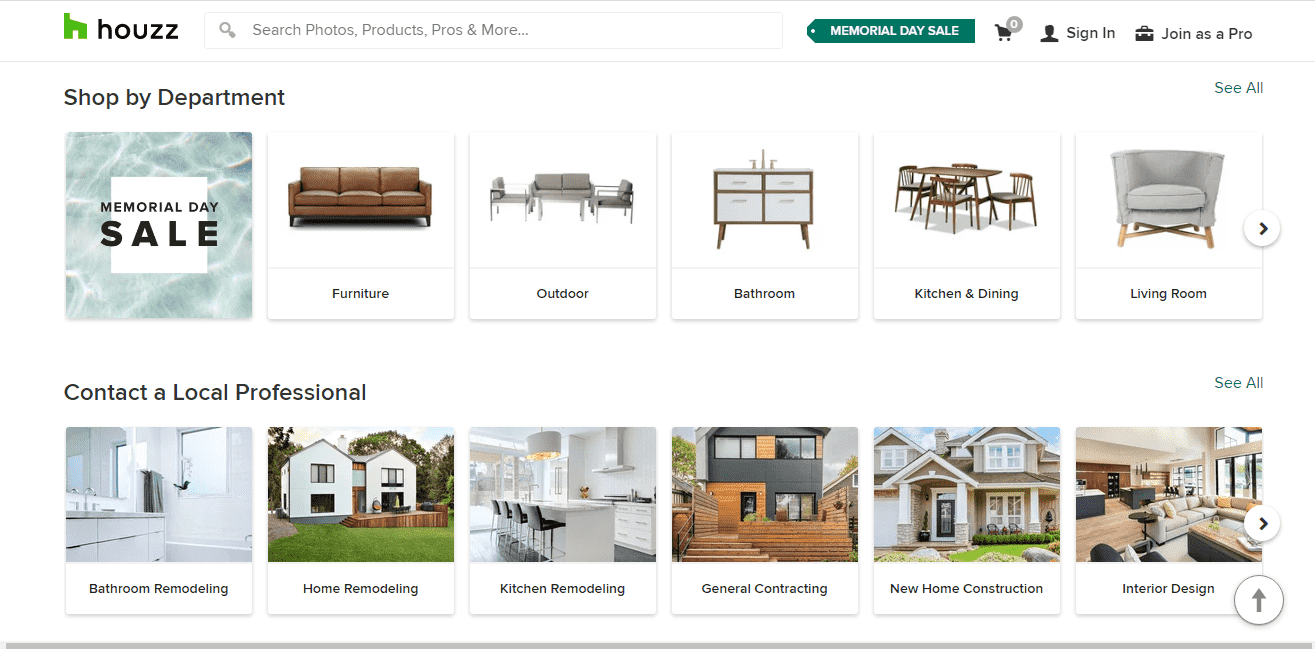 Houzz reviews and complaints
