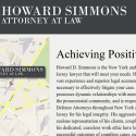 Howard D Simmons Attorney At Law