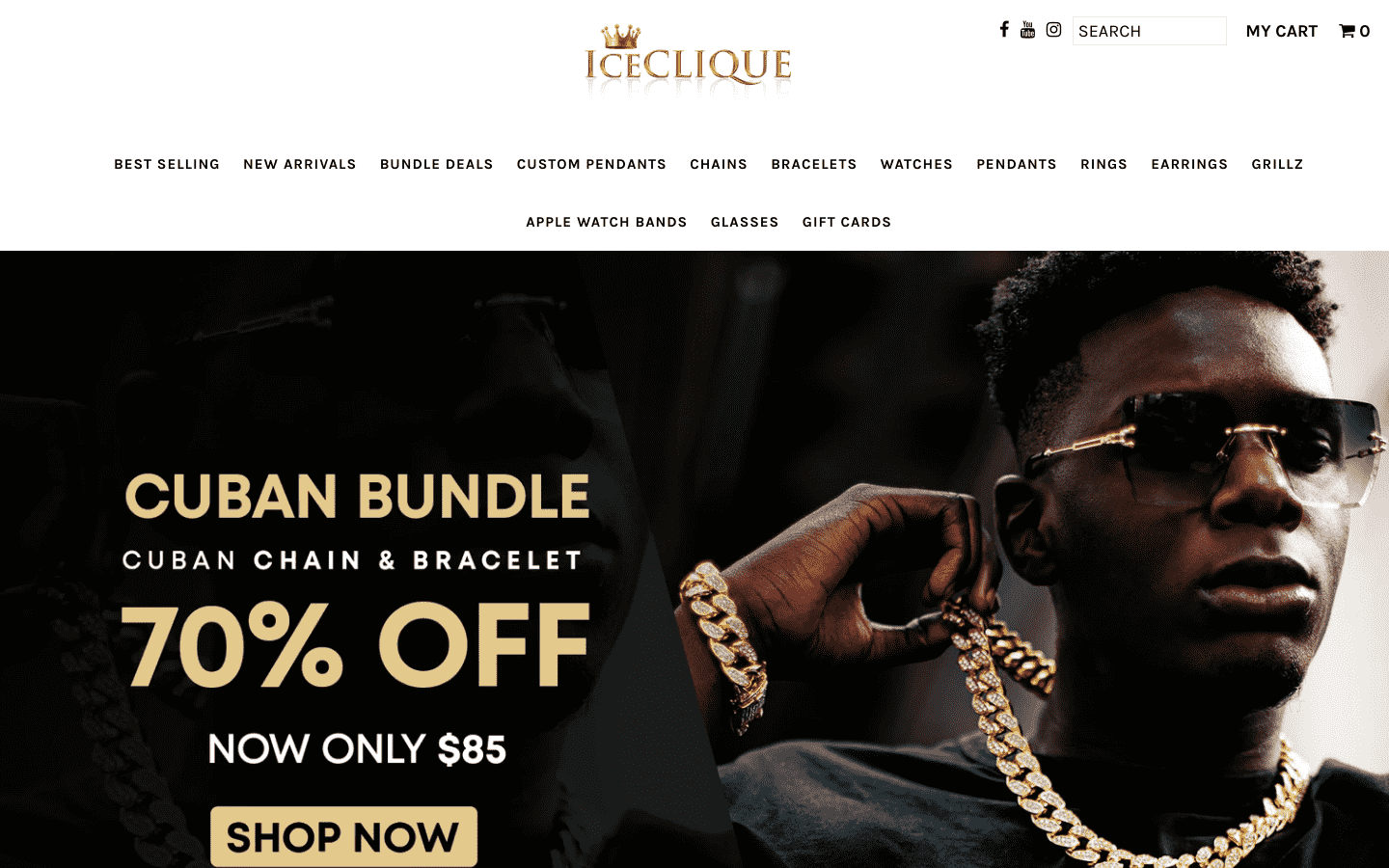 IceClique Jewelry reviews and complaints
