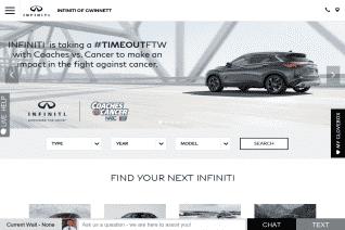 Infiniti of Gwinnett reviews and complaints