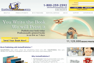 Instantpublisher reviews and complaints