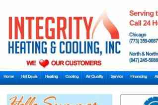 Integrity Heating and Cooling reviews and complaints