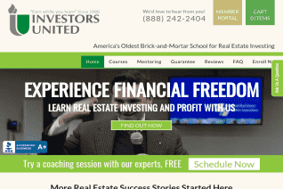 Investors United School Of Real Estate reviews and complaints