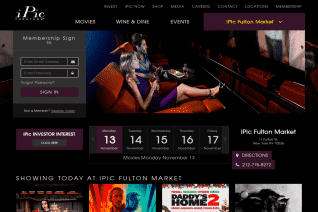 iPic Theaters reviews and complaints