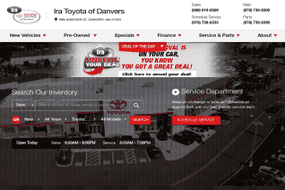 Ira Toyota Of Danvers reviews and complaints