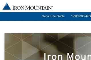 Iron Mountain reviews and complaints