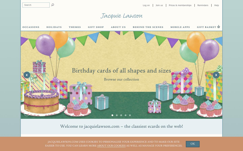Jacquie Lawson reviews and complaints