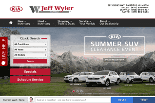 Jeff Wyler Fairfield Kia reviews and complaints