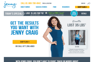 Jenny Craig reviews and complaints