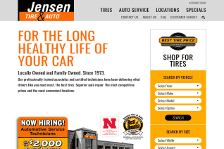 Jensen Tire And Auto reviews and complaints
