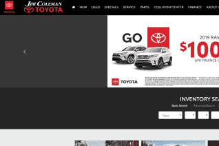 Jim Coleman Toyota reviews and complaints