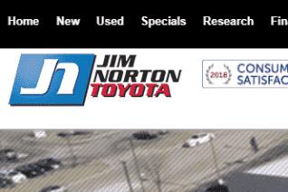 Jim Norton Toyota reviews and complaints