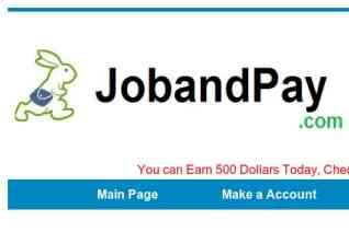 Jobandpay reviews and complaints