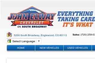John Elway Chevrolet reviews and complaints