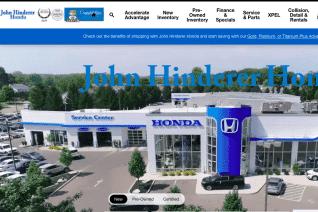 John Hinderer Honda reviews and complaints