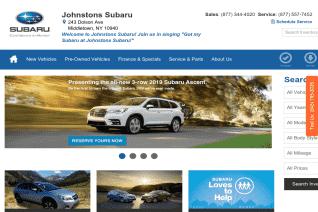 Johnstons Subaru reviews and complaints