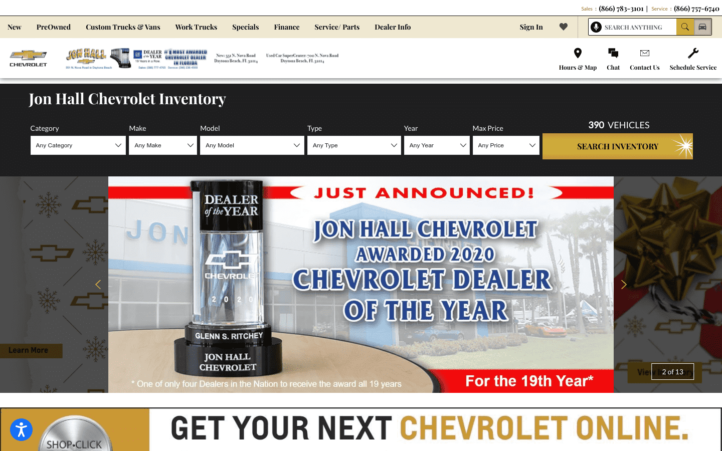 Jon Hall Chevrolet reviews and complaints