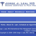 Jorge J Leal Md reviews and complaints
