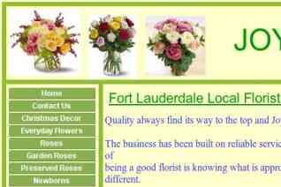 Joys Florist reviews and complaints