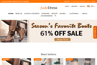 JudeDress reviews and complaints