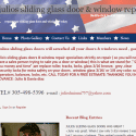 Julios Sliding Glass Doors And Window Repair reviews and complaints