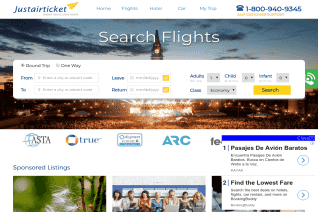 Justairticket reviews and complaints