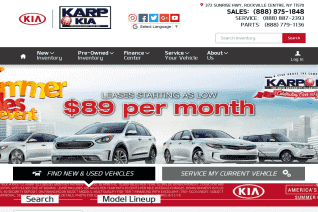 Karp Kia reviews and complaints