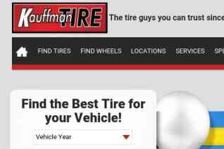 Kauffman Tire reviews and complaints