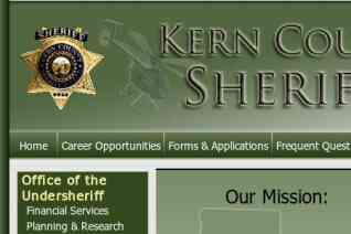 Kern County Sheriffs Office reviews and complaints