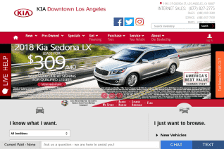 Kia Downtown Los Angeles reviews and complaints