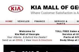 KIA Mall Of Georgia reviews and complaints